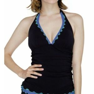 New Profile by Gottex Halter Swimsuit